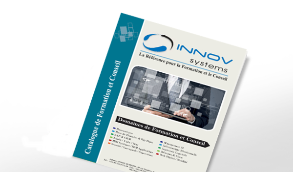 catalogue de formations professionnelles Informatique INNOV SYSTEMS